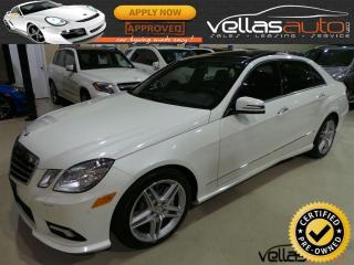 Used 2011 Mercedes-Benz E-Class E550 4MATIC| NAVI| AMG SPORT PKG for sale in Woodbridge, ON