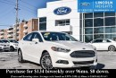 Used 2015 Ford Fusion SE ECOBOOST - LEATHER - BLUETOOTH - REVERSE CAMERA SYSTEM - HEATED FRONT SEATS - REVERSE SENSING SYSTEM - HEATED STEERING WHEEL for sale in Ottawa, ON