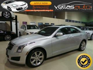 Used 2013 Cadillac ATS 2.0L Turbo Luxury 2.0L| TURBO| LUXURY| AWD| NAVIGATION| SUNROOF for sale in Woodbridge, ON