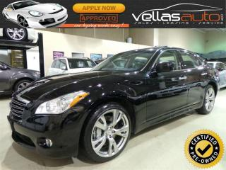 Used 2013 Infiniti M56 x TECH| AWD| NAVIGATION| 20ALLOYS for sale in Woodbridge, ON