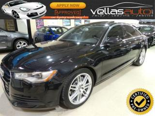 Used 2014 Audi A6 2.0 Progressiv 2.0T| NAVIGATION| QUATTRO for sale in Woodbridge, ON