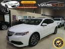 Used 2015 Acura TLX Tech V6| SH-AWD| ELITE| TECHNOLOGY PKG| PEARL WHITE for sale in Woodbridge, ON