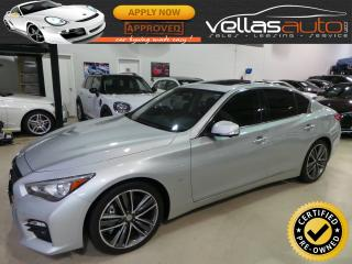 Used 2014 Infiniti Q50 SPORT| NAVIGATION| 19ALYS for sale in Vaughan, ON