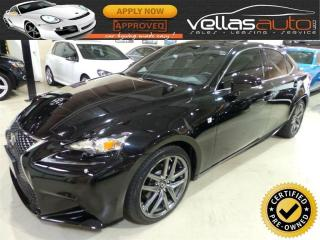 Used 2015 Lexus IS 250 F-SPORT| NAVI| SUNROOF| AWD for sale in Vaughan, ON