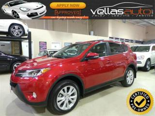 Used 2015 Toyota RAV4 Limited LIMITED| AWD| NAVIGATION| SUNROOF for sale in Woodbridge, ON