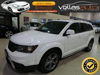 Used 2016 Dodge Journey Crossroad AWD| CROSSROAD| 7PASS| NAVI for sale in Woodbridge, ON