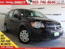 Used 2016 Dodge Grand Caravan | LOCAL TRADE| ONE PRICE INTEGRITY| OPEN SUNDAYS| for sale in Burlington, ON