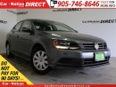 Used 2015 Volkswagen Jetta 2.0L Trendline| BACK UP CAMERA| TOUCH SCREEN| for sale in Burlington, ON
