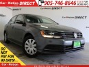 Used 2015 Volkswagen Jetta 2.0L Trendline| TOUCH SCREEN| BACK UP CAMERA| for sale in Burlington, ON