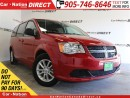 Used 2014 Dodge Grand Caravan SXT Plus| TOUCH SCREEN| DVD| BACK UP CAMERA| for sale in Burlington, ON