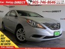 Used 2012 Hyundai Sonata GL| HEATED SEATS|  LOCAL TRADE| OPEN SUNDAYS| for sale in Burlington, ON