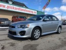 Used 2016 Mitsubishi Lancer $98.85 BI WEEKLY! $0 DOWN! CERTIFIED!  2015 & 2016 DEALER OF THE YEAR!!! for sale in Bolton, ON