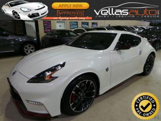 Used 2017 Nissan 370Z Nismo NISMO| NAVI| PEARL WHITE for sale in Woodbridge, ON