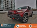 Used 2016 Jeep Cherokee TRAILHAWK, NO ACCIDENTS, LOCALLY DRIVEN, GREAT CONDITION, FREE LIFETIME ENGINE WARRANTY! for sale in Richmond, BC