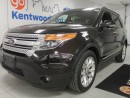 Used 2013 Ford Explorer XLT with NAV, back up cam, twin panel moonroof, and keyless entry! All within a rare kodiak brown for sale in Edmonton, AB