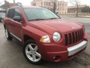 Used 2010 Jeep Compass Limited w/NAVI_LEATHER_SUNROOF for sale in Oakville, ON