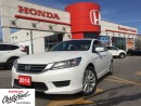 Used 2014 Honda Accord Sedan LX, FINANCE UP TO 60 MONTHS AT 1.99% for sale in Scarborough, ON