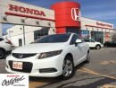 Used 2013 Honda Civic LX, GORGEOUS, HARD TO FIND for sale in Scarborough, ON