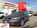 Used 2013 Honda Civic LX, one owner, clean carproof report, for sale in Scarborough, ON