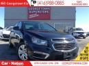 Used 2016 Chevrolet Cruze 1LT | CLEAN CAPROOF | BACK UP CAMERA | TURBO | for sale in Georgetown, ON