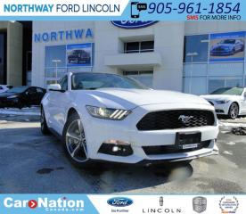 Used 2016 Ford Mustang EcoBoost Premium | NEW VEHICLE | DARE TO COMPARE | for sale in Brantford, ON