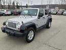 Used 2008 Jeep Wrangler Unlimited X for sale in West Kelowna, BC