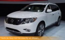 Used 2015 Nissan Pathfinder Platinum, Nav, DVD/TV, 7 Pass, for sale in Winnipeg, MB
