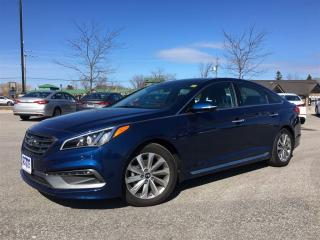Used 2016 Hyundai Sonata Sport Tech, Brand New HUGE DEMO $savings for sale in Collingwood, ON