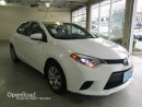 Used 2014 Toyota Corolla LE - Backup Camera, Heated Front Seats, Bluetooth for sale in Port Moody, BC