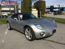 Used 2006 Pontiac Solstice Base for sale in Richmond, BC