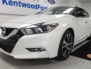 Used 2017 Nissan Maxima Maxima with Maximum warmth! heated seats AND heated steering wheel for sale in Edmonton, AB