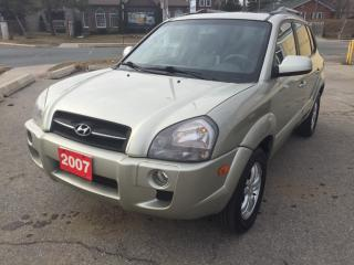 Used 2007 Hyundai Tucson GLS for sale in Scarborough, ON