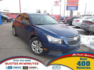 Used 2012 Chevrolet Cruze LS for sale in London, ON