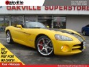 Used 2010 Dodge Viper SRT10 | 6 SPEED MANUAL | 600 HORSE POWER | COLLECT for sale in Oakville, ON