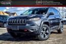 Used 2015 Jeep Cherokee Trailhawk|4x4|Navi|Backup Cam|Bluetooth|R-Start|Heated Front Seats|17