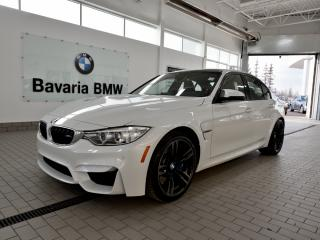 New 2017 BMW M3 Sedan for sale in Edmonton, AB