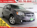 Used 2016 Dodge Grand Caravan Crew| LEATHER| NAVI| BACK UP CAMERA| for sale in Burlington, ON