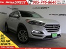 Used 2017 Hyundai Tucson Luxury 2.0| AWD| LEATHER| PANO ROOF| for sale in Burlington, ON