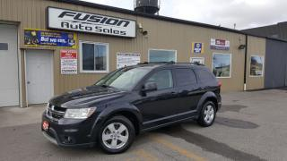 Used 2012 Dodge Journey SXT-1 OWNER-V6-BLUETOOTH-PWR SEAT for sale in Tilbury, ON