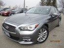 Used 2015 Infiniti Q50 3.7-AWD-PREMIUM/Navigation-Sunroof for sale in Mississauga, ON