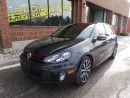 Used 2012 Volkswagen Golf GTI 5-Door 6 Speed Leather, Sunroof for sale in Woodbridge, ON