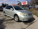 Used 2003 Toyota Corolla EXPERTS SPECIAL,5SPD,4DR,143000KM,$2888 for sale in North York, ON