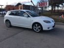Used 2006 Mazda MAZDA3 WOW 39000KM ,HATCK BACK,AUTO,SAFETY E/T INCL for sale in North York, ON