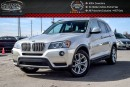 Used 2014 BMW X3 xDrive28i|Navi|Pano Sunroof|Backup Cam|Bluetooth|Heated Front Seats|18