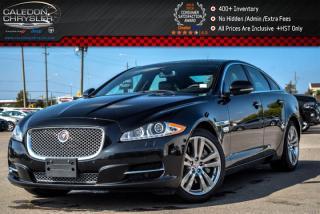 Used 2014 Jaguar XJ AWD|Navi|Pano Sunroof|Backup Cam|Bluetooth|Leather|19