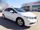 Used 2014 Honda Civic LX..1 OWNER..CLEAN CAR PROOF for sale in Milton, ON