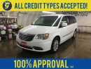 Used 2015 Chrysler Town & Country DUAL REAR DVD PLAYERS*DUAL ROW STOW & GO*BACK UP CAMERA* POWER REAR SLIDING DOORS*PHONE*POWER TAIL-GATE* for sale in Cambridge, ON