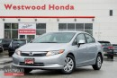 Used 2012 Honda Civic LX (A5) for sale in Port Moody, BC