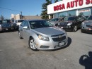 Used 2012 Chevrolet Cruze 4dr Sdn LT AUTO SAFETY ETEST NO ACCIDENT REMOTE ST for sale in Oakville, ON