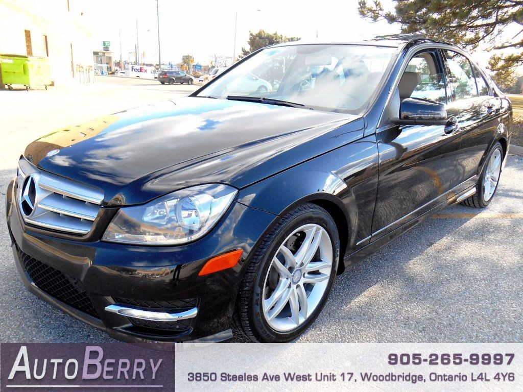 Used 2013 mercedes benz c class c300 4matic for sale in for Used mercedes benz c300 4matic for sale